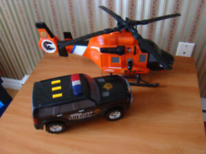 Mighty Motorized Fire Search and Rescue Helicopter plus more