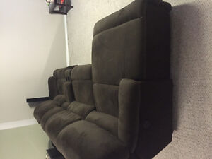 4 peice Devon Power Reclining Sectional Couch