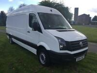 Volkswagen Crafter CR35 3.5T 2.0Tdi 109ps H/Roof Lwb Jumbo Transit Sprinter Size