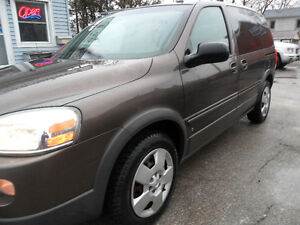 2007 Pontiac Montana SV6, safetied & e-tested ONLY 132,000kms