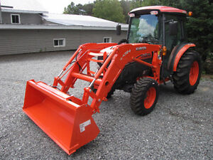 Brand new 0 hrs on loader and tires Kubota