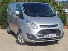 2016 Ford Transit Custom 2.0 TDCi 130ps L1 H1 Limited Van 4 door Panel Van