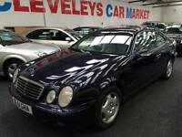 2001 MERCEDES BENZ CLK 320 Elegance Auto Coupe From GBP1950+Retail package.