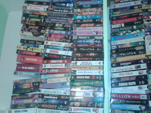 190 VHS tapes