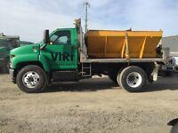 Snow Plow/Salt Sand Spreader Truck
