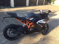 Ktm Rc 390 registered as 125 2015