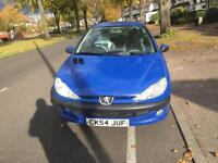 Peugeot 206 1.4 8v 2005MY Zest Px welcome