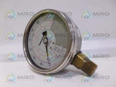 Enerpac Gf-230p Hydraulic Pressure Gauge Used