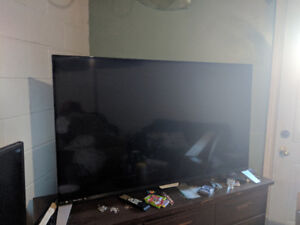 """Phillips 55"""" Smart 4K TV with box and remote"""