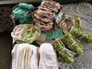 cloth diapers and more