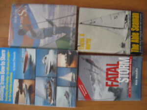 Four books about sailing and boating