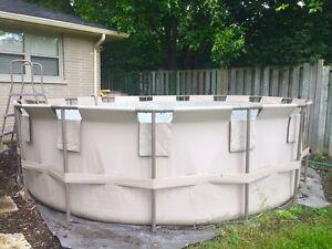 15 ft steel frame Hydro Force pool