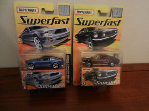 Matchbox Superfast Mustangs Limited Out of 8000 Mint