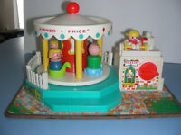 Vintage carouselle fisher price