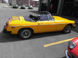 ***Auto ancienne MG MGB 1976 Sport décapotable***