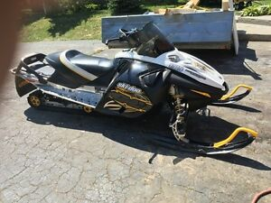 2007 skidoo mxz renegade 1000.  Trade for 4x4 atv