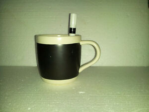 Starbucks large chalkboard  coffee mug with white marker pen NEW London Ontario image 2