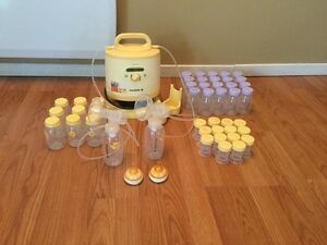 Hospital grade double electric breast pump