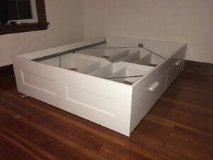 Bed Frame Queen - IKEA Brimnes