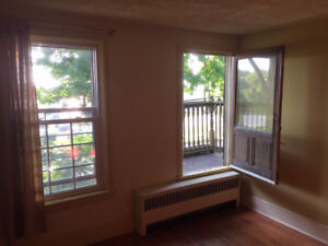 Riverview bedroom with balcony, $575 all inclusive Nov. 1