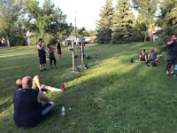 Weight Lifting in Ritchie Park! :)