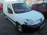 2007 Peugeot Partner 1.6HDi 75bhp 600L DIESEL NO VAT LONG MOT