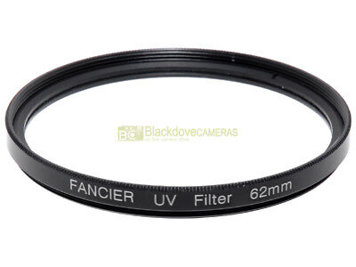 62mm. filtro UV Fancier. Ultra violet filter.
