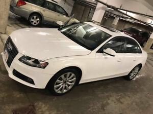 Audi A4 2.0T Quattro Premium leather trim