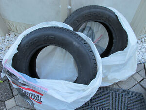2 @ SX 9000 HR RADIAL TIRES ( $ Negotiable) West Island Greater Montréal image 1
