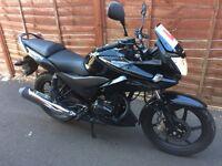 Honda CBF 125cc Motorbike Learner licensed