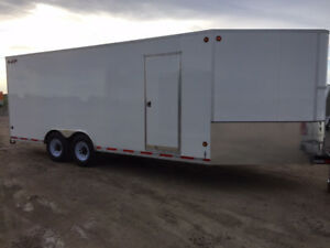 2018 CJay 8x20 Enclosed - White - 4114