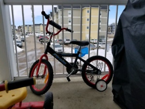 Cycle with training wheels