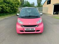 2010 smart fortwo 1.0 MHD Passion Softouch 2dr Auto Coupe Petrol Automatic