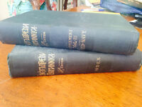 Antique Encyclopaedia Britannica Ninth Edition
