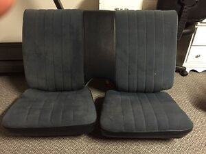 1981 Camaro Z28 Rear Seats