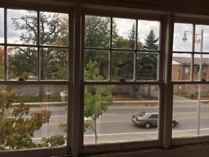 Antique windows from century home