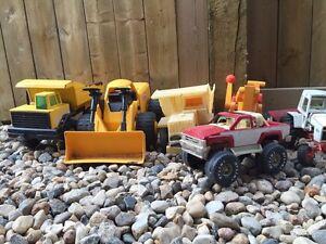 Trucks, tractors