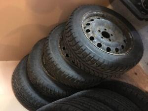 Champiro Ice Pro Winter Tires + Rims