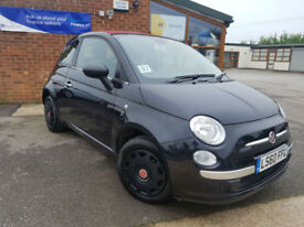 2010 Fiat 500C 1.2 ( s/s ) POP CONVERTABLE NEW SERVICE GOOD CONDITION