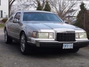 1989 Lincoln Mark Vii  LSC 5.0L H.O $1800 0bo