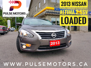 2013 NISSAN ALTIMA 2.5 SV | Rear View Camera | Sunroof | $12,995