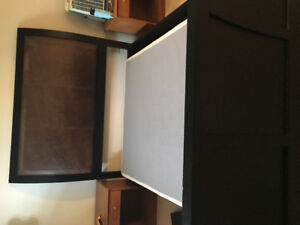 Queen Sleigh  Bed Frame with Head & Foot Board