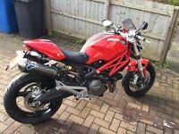 Ducati Monster 696 termignoni exhaust