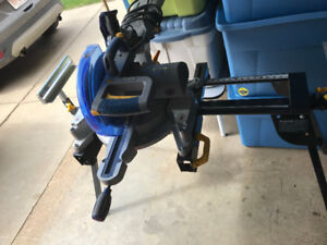 Sliding Laser Mitre Saw with Stand