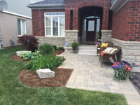 Landscape Services-Patios, Walls, Interlocking *lift and relay!*