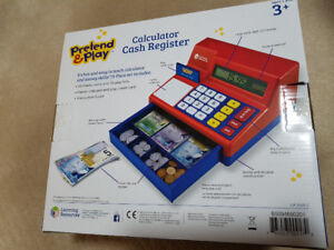 NEW Learning Resources Cash Register Toy