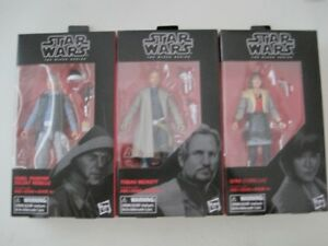 Star Wars Black Series (Rebel Trooper, Tobias Beckett & Qi'ra )