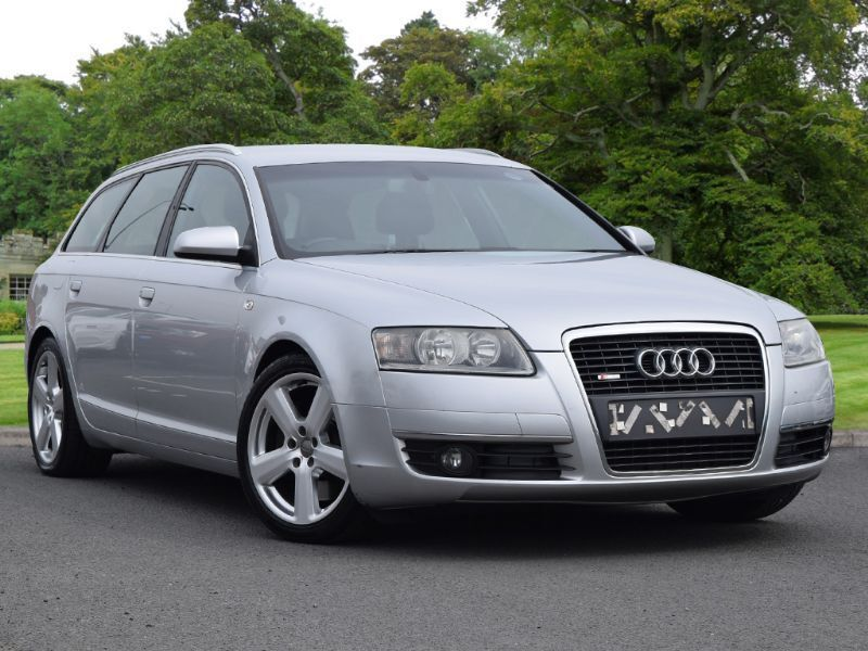 audi a6 avant 3 0 tdi s line quattro 5dr silver 2006. Black Bedroom Furniture Sets. Home Design Ideas