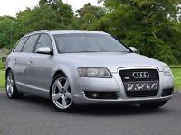 Audi A6 Avant 3.0 TDI S Line Quattro 5dr (silver) 2006