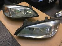 Vauxhall Astra G mk4 headlights pair driver & passanger
